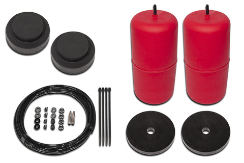 POLYAIR RED RAISED 25MM -> 40MM AIRBAG KIT- Nissan Pathfinder, R51 (2005 - 2013)
