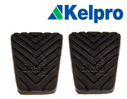 CLUTCH/BRAKE PEDAL PADS- PAJERO NM-NX