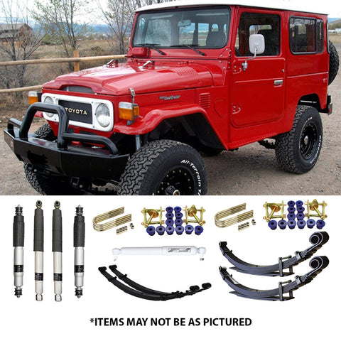 "SELECT 4WD ULTIMATE SUSPENSION 2"" LIFT KIT- 40 SERIES LANDCRUISER (SWB)"