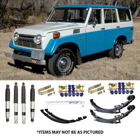 "SELECT 4WD OVERLAND SERIES 2"" LIFT KIT- 50 SERIES LANDCRUISER"