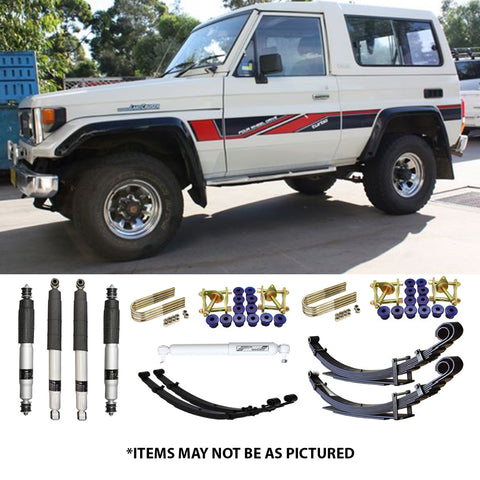 "SELECT 4WD ULTIMATE SUSPENSION 2""LIFT KIT- 70 SERIES (MWB) LANDCRUISER"