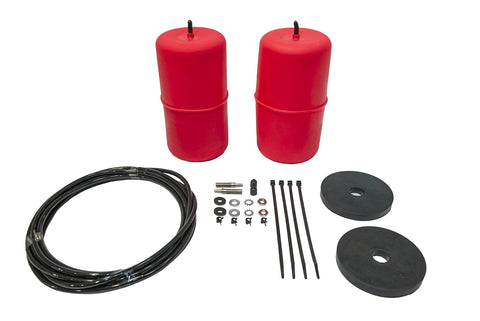 POLYAIR RED STANDARD HEIGHT AIRBAG KIT- Holden Rodeo, 2WD (1981 - 1987)
