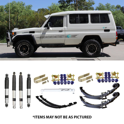 "SELECT 4WD ULTIMATE SUSPENSION 2""LIFT KIT- 70/75 SERIES LANDCRUISER (TROOPY + TRAY BACK)"