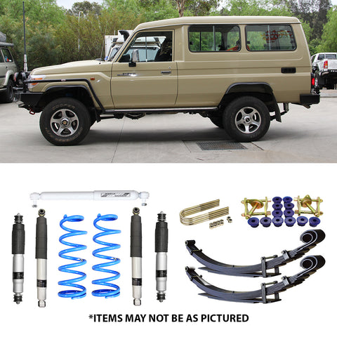 "SELECT 4WD ULTIMATE SUSPENSION 2"" LIFT KIT- 78 SERIES LANDCRUISER"