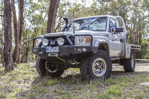 How Does A Buy Here Pay Here Work >> UNEEK 4X4 BULL BAR- LANDCRUISER 79 SERIES (2007-2017 ...