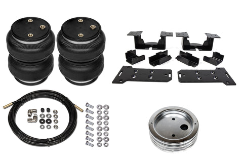 POLYAIR BELLOWS ULTIMATE STANDARD HEIGHT AIRBAG KIT (NO DRILL) -GMC Sierra, 2500HD 4WD (2001 - 2010)