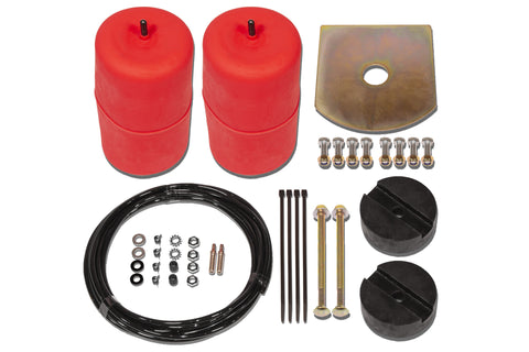 POLYAIR RED STANDARD HEIGHT AIRBAG KIT- Land Rover Defender, 90 - SWB (1984 - 2016)