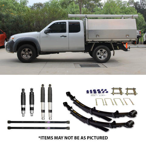 "SELECT 4WD OVERLAND SERIES 2"" LIFT KIT- MAZDA BT-50 GEN1"