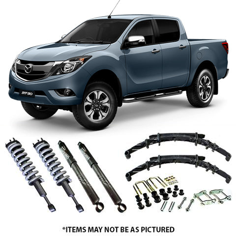 DRIVETECH 4X4 ENDURO LIFT KIT- MAZDA BT-50 GEN2 (10/2011-ON)
