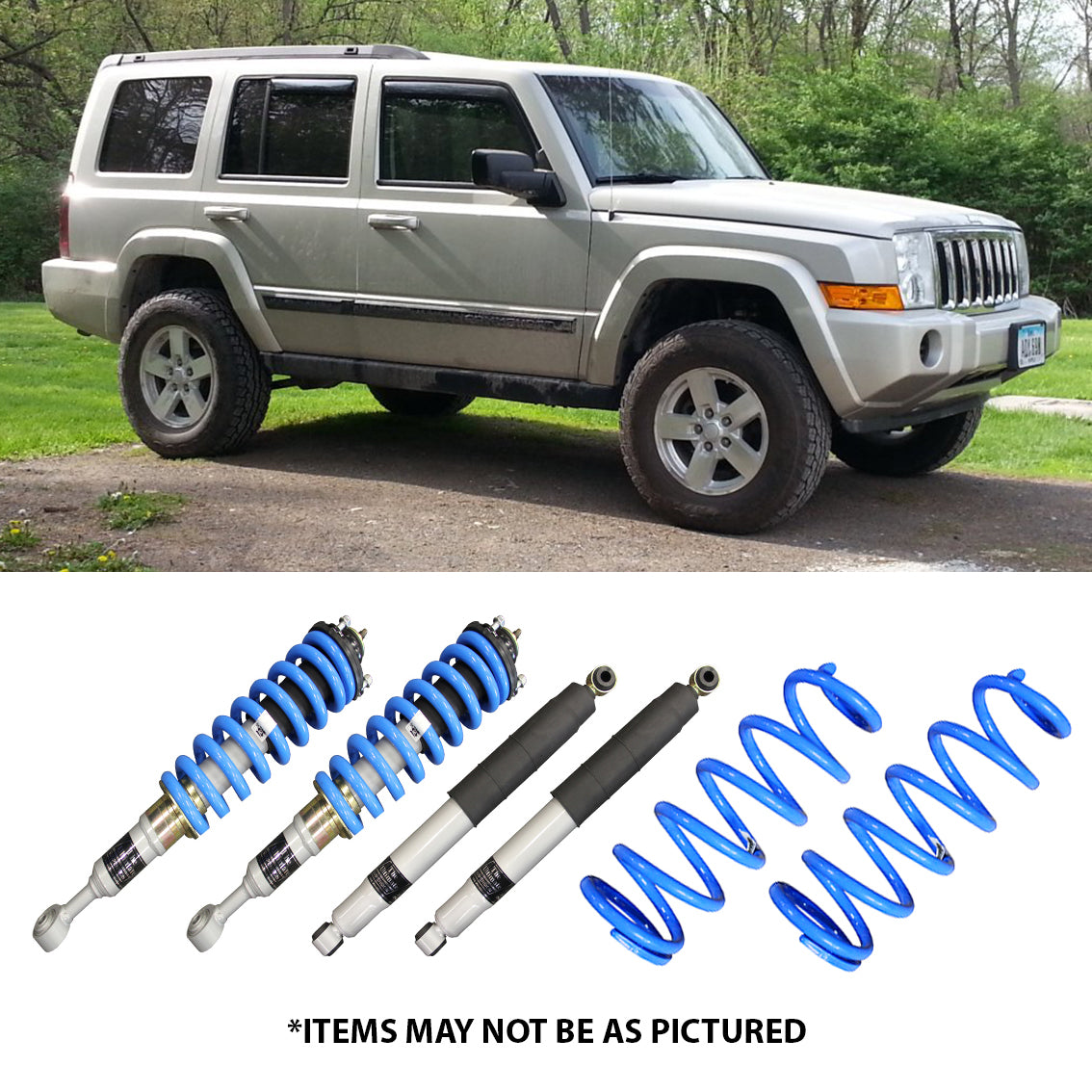 Select 4wd Ultimate Suspension 2 Lift Kit Jeep Commander Select 4wd