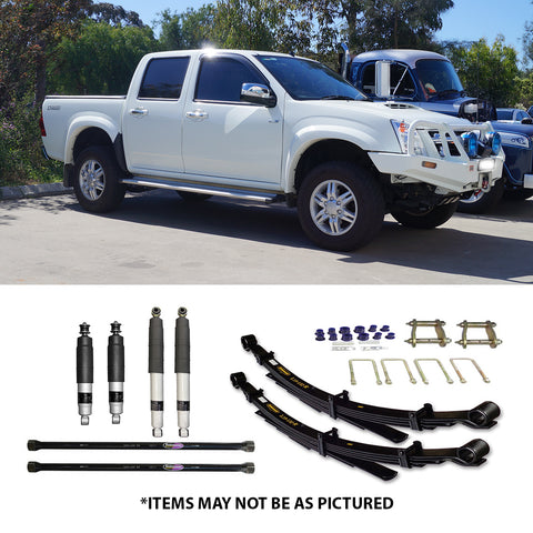 "SELECT 4WD OVERLAND SERIES 2"" LIFT KIT- ISUZU DMAX GEN1"