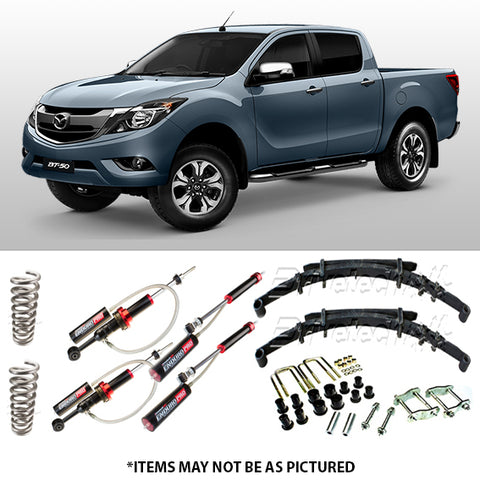 DRIVETECH 4X4 ENDURO PRO MONOTUBE LIFT KIT- MAZDA BT-50 GEN2