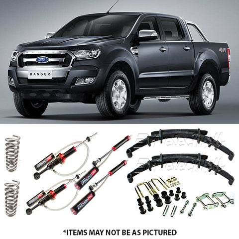 DRIVETECH 4X4 ENDURO PRO MONOTUBE LIFT KIT- FORD RANGER PX
