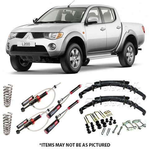 DRIVETECH 4X4 ENDURO PRO MONOTUBE LIFT KIT- MITSUBISHI TRTION ML/MN