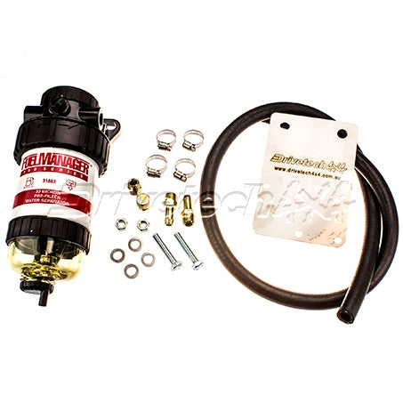 DRIVETECH 4x4 FUEL MANAGER PRE-FILTER & WATER SEPARATOR (NISSAN PATROL Y61)