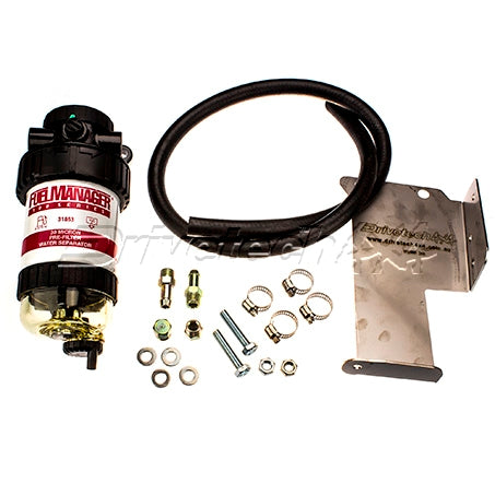 DRIVETECH 4x4 FUEL MANAGER PRE-FILTER & WATER SEPARATOR (NISSAN NAVARA D40)