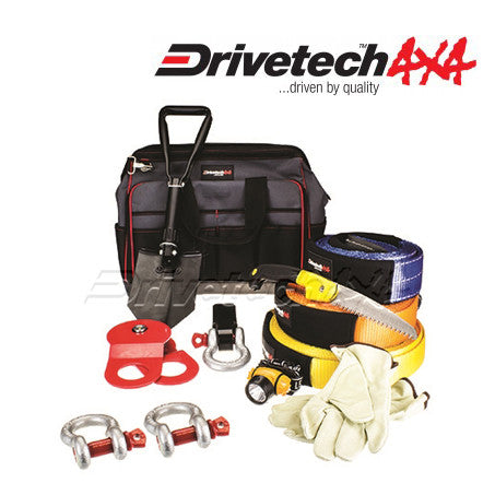 DRIVETECH 4X4 MAMMOTH WINCH RECOVERY KIT (LARGE)