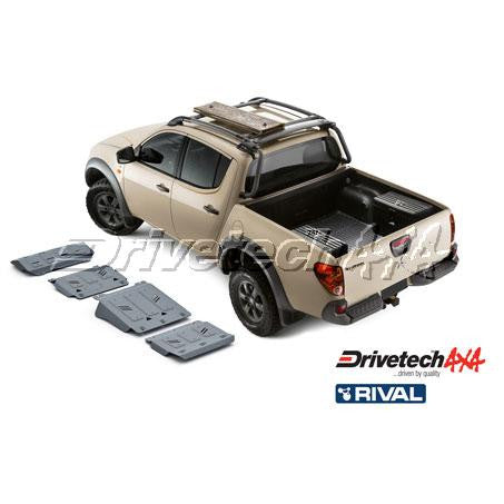 DRIVETECH 4X4- RIVAL UNDERBODY ARMOUR KIT (TRITON ML/MN)