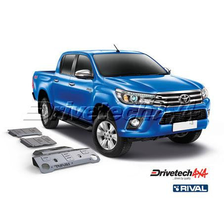 DRIVETECH 4X4- RIVAL UNDERBODY ARMOUR KIT (HILUX 2015-ON)