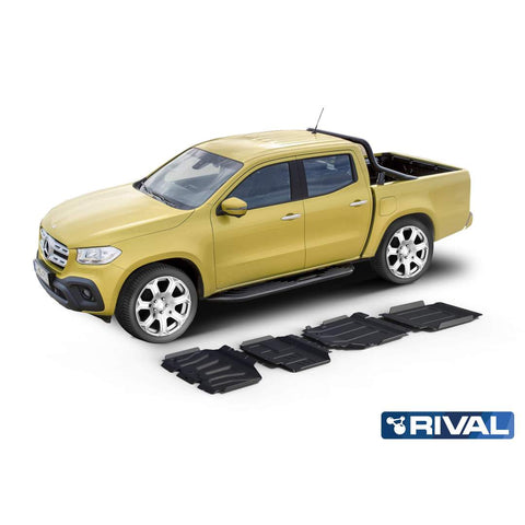 DRIVETECH 4X4- RIVAL UNDERBODY ARMOUR KIT (MERCEDES X-CLASS)