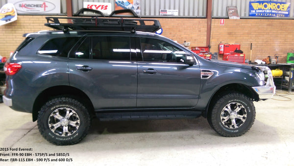 Select 4wd Ultimate Suspension 2 Quot Lift Kit Ford Everest