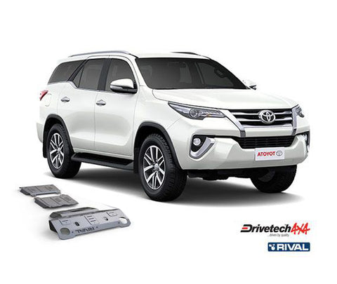 DRIVETECH 4X4- RIVAL UNDERBODY ARMOUR KIT (FORTUNER)