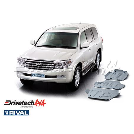 DRIVETECH 4X4- RIVAL UNDERBODY ARMOUR KIT (LANDCRUISER 200 SERIES)