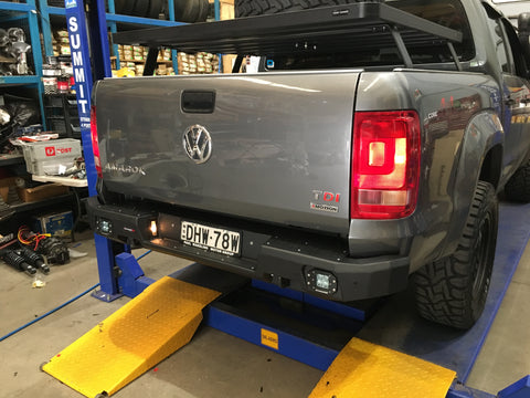 DRIVETECH 4X4- RIVAL REAR BAR- VW AMAROK