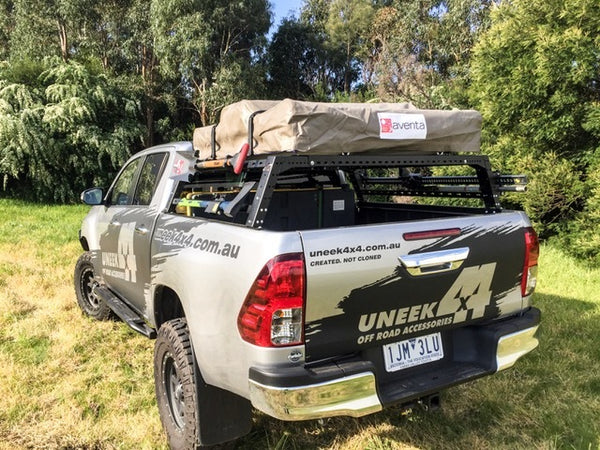 Uneek 4x4 Adventure Rack Universal Fit For Ute Tubs