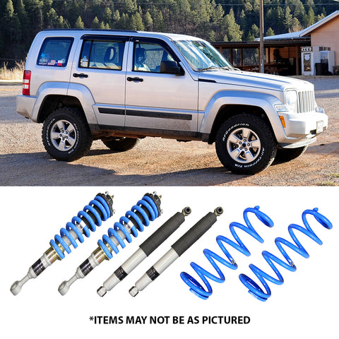 "SELECT 4WD ULTIMATE SUSPENSION 2"" LIFT KIT- JEEP CHEROKEE KK"