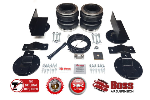 Boss Air Suspension Ford Transit Dual Rear Wheel Airbag Suspension