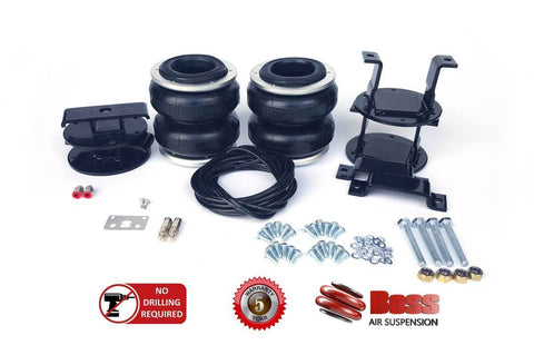 Boss Air Suspension Nissan Navara D40 4WD Current Model Airbag Suspension