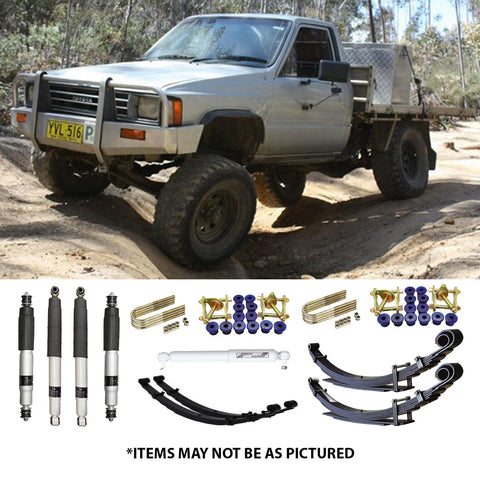 "SELECT 4WD ULTIMATE SUSPENSION 2"" LIFT KIT- TOYOTA HILUX (LEAF/LEAF)"