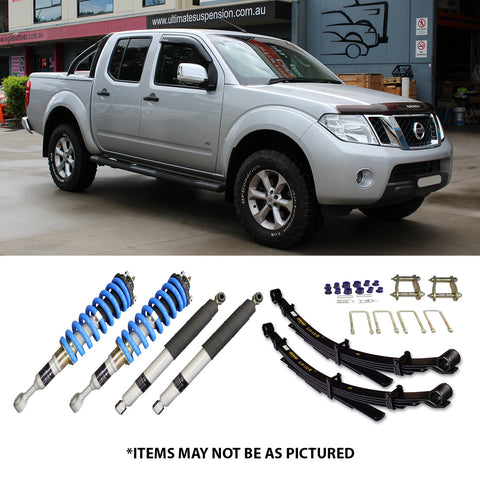 "SELECT 4WD ULTIMATE SUSPENSION 2"" LIFT KIT- NISSAN NAVARA D40"