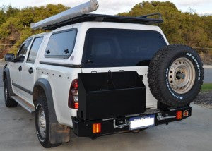 OUTBACK ACCESSORIES TWIN WHEEL CARRIER- HOLDEN RODEO RA