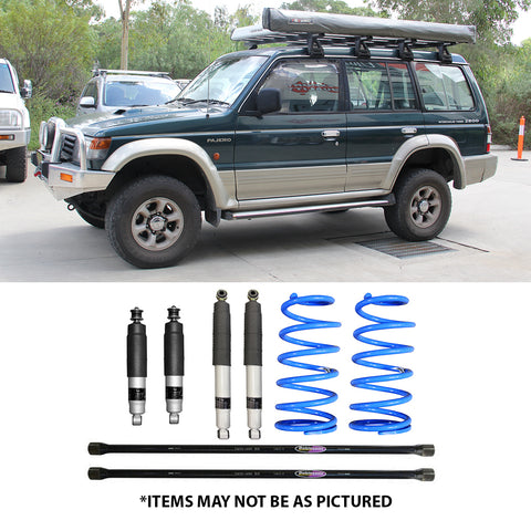 "SELECT 4WD ULTIMATE SUSPENSION 2"" LIFT KIT- PAJERO NH-NL (COIL REAR)"