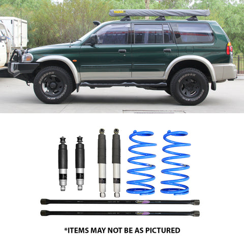 "SELECT 4WD  OVERLAND SERIES 2"" LIFT KIT- CHALLENGER PA 2"