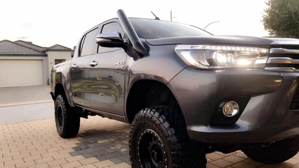 Hyundai Of Bend >> PHAT BARS SNORKEL- TOYOTA HILUX N80 (2015-ON) – Select 4WD