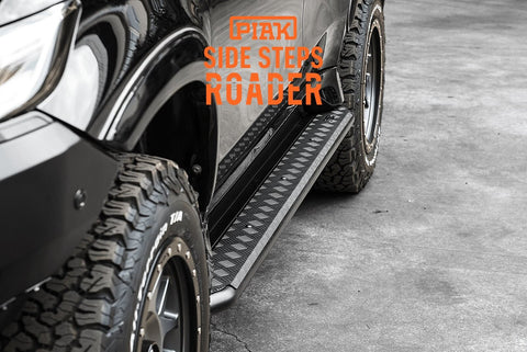 PIAK - SIDE STEP ROADER BLACK CHECKER - PAJERO SPORT 2016+