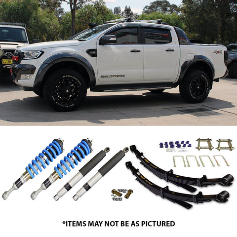 "OVERLAND SUSPENSION 2"" LIFT KIT TO SUIT FORD RANGER PX1 AND PX2"