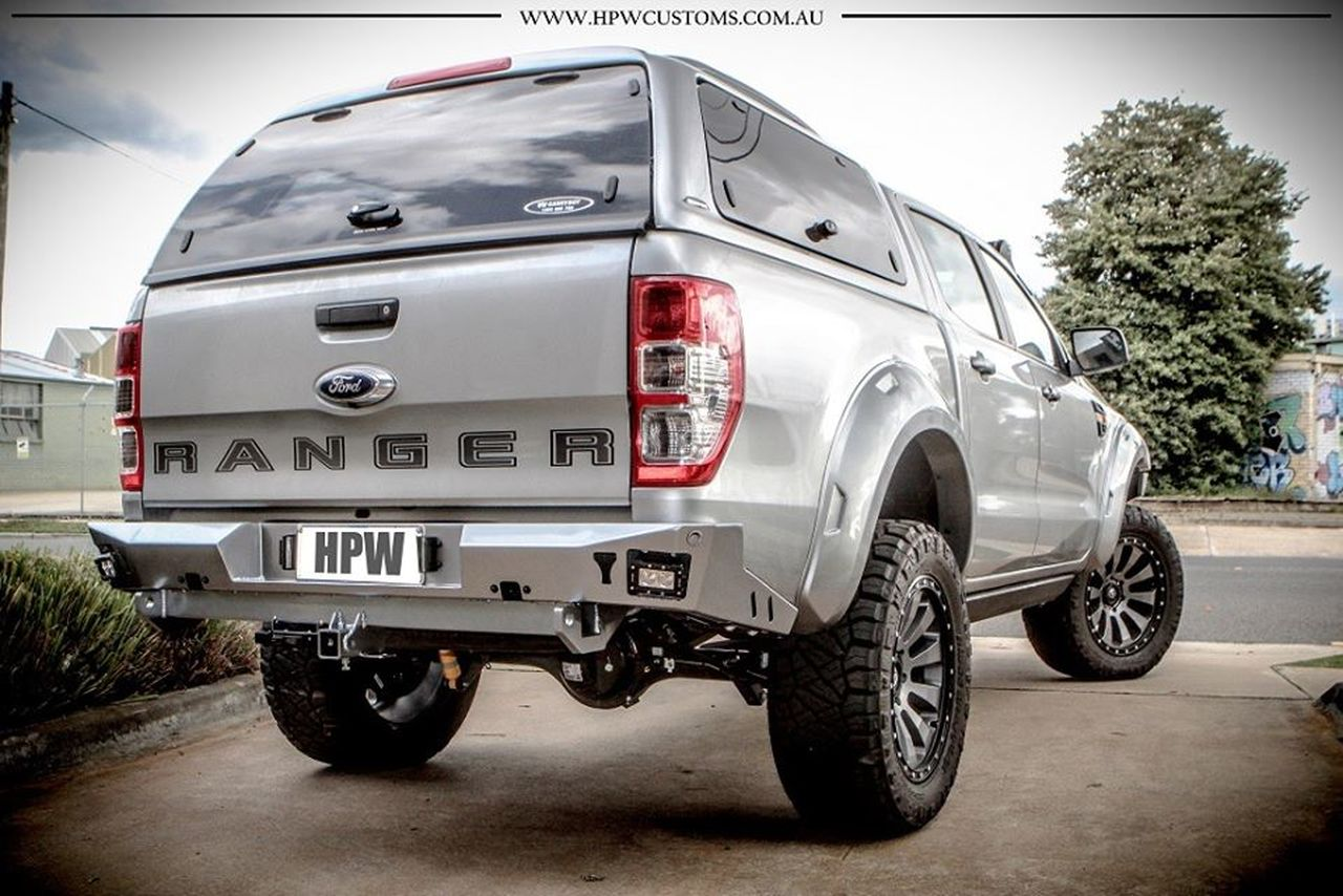 Offroad Animal Rear Bumper And Tow Bar Ford Ranger Px 2011 On Mazda Select 4wd