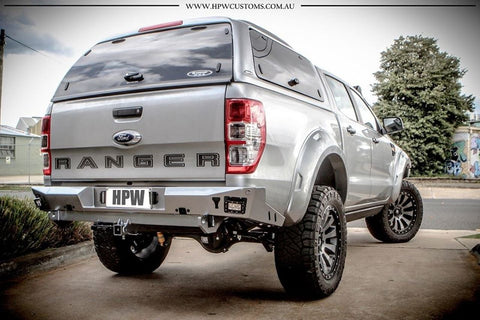 Offroad Animal Rear Bumper and Tow Bar, Ford Ranger PX 2011-on, Mazda BT50- 2011- on