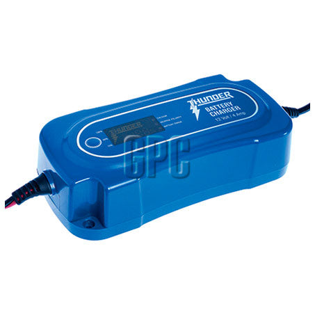 Thunder 8 Stage Battery Charger 4A