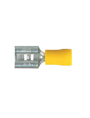 Thunder Yellow Female Blade Terminal 9.5mm