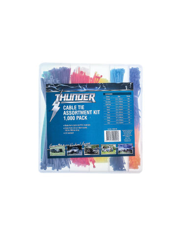 Thunder Cable Tie Assortment Kit