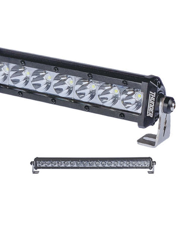 Thunder LED Driving Light Bar 12 or 24V 18 LED 54W Spot Beam