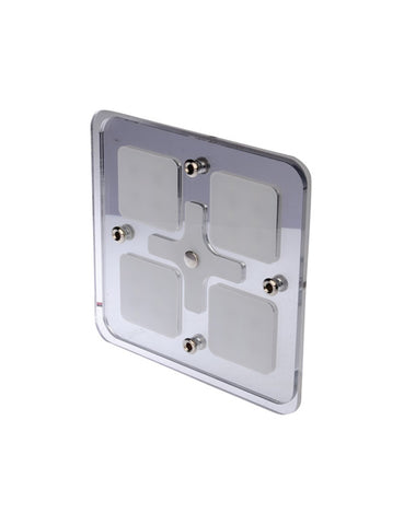 Thunder LED Interior Mirror Light 12V- SQUARE