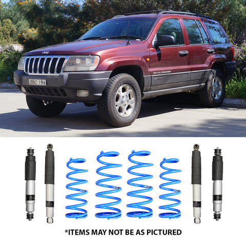 "SELECT 4WD OVERLAND SERIES 2"" LIFT KIT- GRAND CHEROKEE WJ/WG"