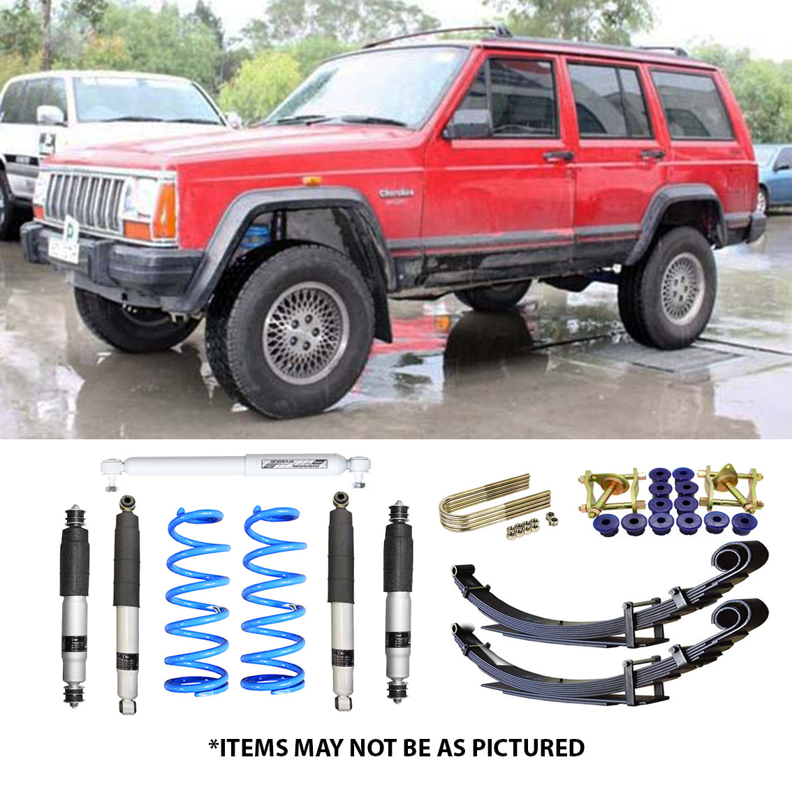 Jeep Cherokee Xj >> Select 4wd Ultimate Suspension 2 Lift Kit Jeep Cherokee Xj