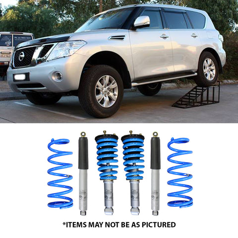 "SELECT 4WD ULTIMATE SUSPENSION 2"" LIFT KIT- NISSAN PATROL Y62"